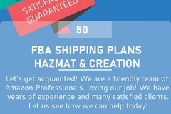 Package: FBA Shipment Consultation and Shipping Plan Creation-Hazmat