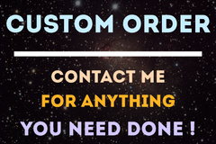 Package: Custom Listing For Custom Order