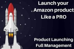 Package: Amazon Product Launching - Full Management (A to Z)