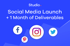 Package: Social Media Launch & 1 Month Deliverables