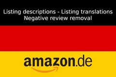 Package: English to German Listing expert