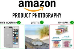 Package: 3 Product Photos with HIGH QUALITY graphics- 2 day delivery