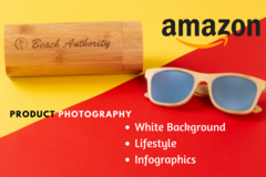 Package: Amazon Lifestyle and info-graphics Photography