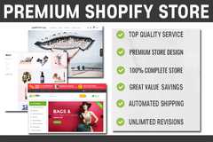 Package: Professional Shopify Storefront + Shipping Automation