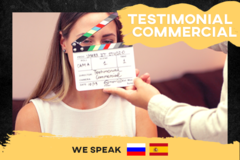 Package: Testimonial Commercial