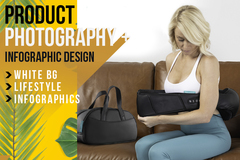 Package: INCREASE SALES! Product Photography, Lifestyle, Infographics