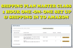 Package: 1 HOUR SHIPPING PLAN SET UP MASTER CLASS