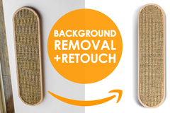 Package: 5 Images Background Removal + Free Retouch