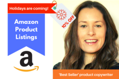 Package: 'Best Seller' & 'Amazon's Choice' Product Copywriter