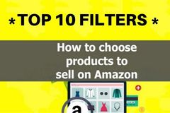 Package: TOP 10 FILTERS for your Professional Amazon Product Research