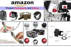 Package: 7 Amazon Product Photos, lifestyle, infographics, white BG
