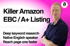 Package: Killer Amazon EBC or A+ Listing to Increase Sales