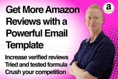 Package: Amazon email template to increase product reviews