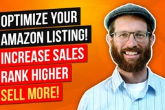Package: Optimized Listing + Keyword Research + Upload Tutorial Video