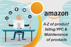 Package: A-Z product listing/PPC & Maintenance of 4 products