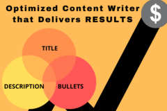 Package: KEYWORD RICH TITLE, BULLETS & DESCRIPTION