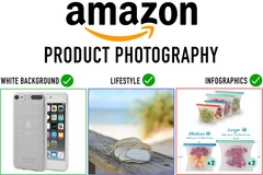 Package: 10% OFF 5 white background photos -2 day TURNAROUND