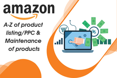 Package: A-Z product listing/PPC & Maintenance of 5 products/ 1 month