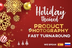 Package: Holiday-themed Product Photography