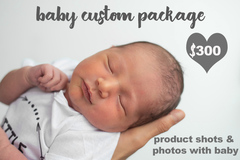 Package: BABY photography 2 month old baby boy