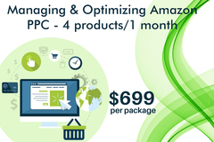 Package: Managing and Optimizing Amazon PPC - 4 products / 1 month