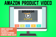 Package: Amazon Video Product Slide Show Design Service