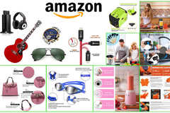 Package: Customer Order: Amazon Photos, lifestyle, infographics