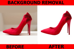 Package: i will create white background/retouching your pictures