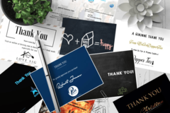 Package: Get more reviews with thank you card