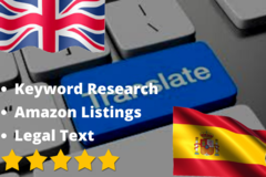 Package: I will Translate English listings into Native Spanish