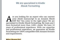 Package: Amazon kindle Ebook formatting