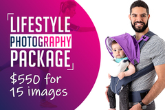Package: Product & Lifestyle Photography Package