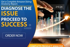 Package: GET A COMPLETE LISTING & RANK REPORT FOR YOUR AMAZON FBA