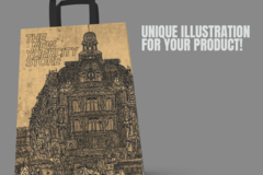 Package: Unique Illustration for your product package
