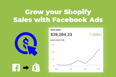 Package: Grow your Shopify Sales 200% with Facebook Ads