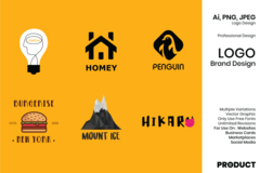 Package: Logo / Brand Design - 3 Options Included