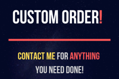 Package: Custom order- Danny