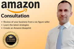 Package: Amazon Consultation from a Six-Figure Seller