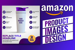 Package:  Amazon Listing Images- UNLIMITED REVISIONS