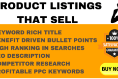 Package: Fully Optimized Listing + PPC Keywords
