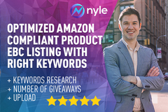 Package: 100% Optimized Amazon Compliant Listing + EBC copy + Upload
