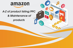 Package: A-Z product listing/PPC & Maintenance of 5 products