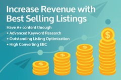 Package: Increase Your Revenue with  High Converting  Listing