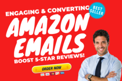 Package: Amazon Email Sequence: Increase Engagement & 5-Star Reviews!