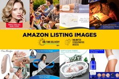Package: STUNNING Amazon Listing Images! [PACK OF 7 IMAGES]