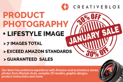 Package: JANUARY SALE! Save 30% Product Photography + Lifestyle Image