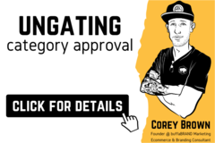 Package: Category Ungating | Approval To Sell A New Category