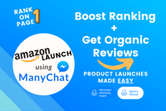 Package: Boost Rank + Get Organic Reviews with ManyChat + Facebook Ad
