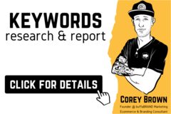 Package: Full Keyword Research | Target Terms for Listing & PPC