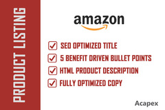 Package: SEO Optimized Amazon Product Listing That Sells